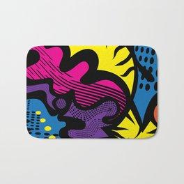 Prismatic Cat Bath Mat