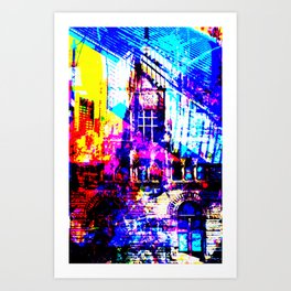 THE SIX MIX Art Print