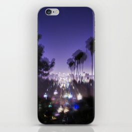 Chasing Light in Los Angeles iPhone Skin