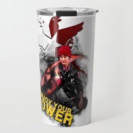 "InFamous Second Son - ""ENJOY YOUR POWER"" Travel Mug"