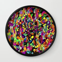 The Spice of Life Wall Clock