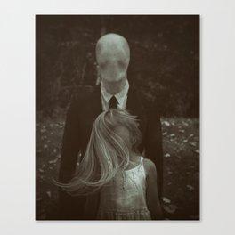 Degaussed Canvas Print