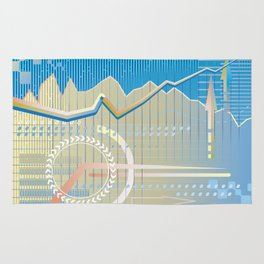 financial background Rug