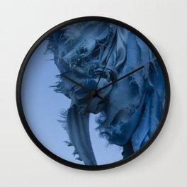 Sacred Blue Wall Clock