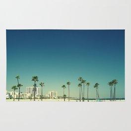 Summer Beach Blue Rug