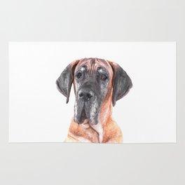 Great Dane Portrait Rug