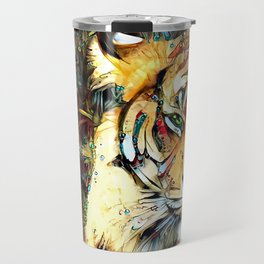 Fantazi (Tiger is Not Amused II) Travel Mug