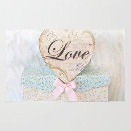 Love Heart Books Rug