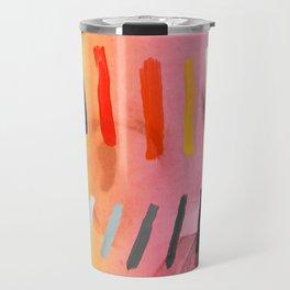 Composition on Panel 4 Travel Mug