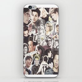 ONE DIRECTION LOUIS TOMLINSON - COLLAGE1 iPhone Skin