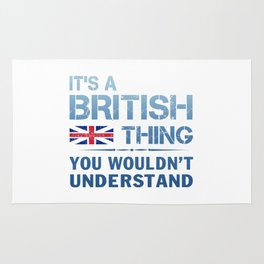 It's a British Thing Rug