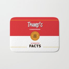 Trump's Alternative Facts Soup Bath Mat