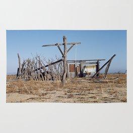 Makeshift Mexico Cross, 2007 Rug