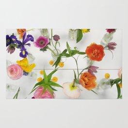 Spring Flowers - JUSTART (c) Rug