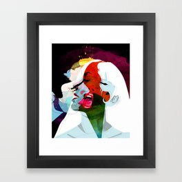 Kiss Framed Art Print