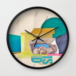 in recline Wall Clock