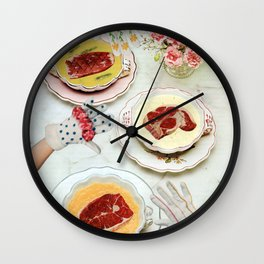Meat Soup Wall Clock