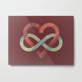 Infinite Love Metal Print