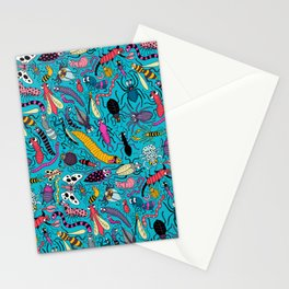 Bug Pattern Stationery Cards