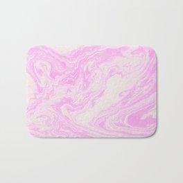 Akiko - spilled ink art print monoprint handmade japanese paper marble paper texture pattern map Bath Mat