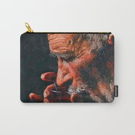 A big man drinks tea Carry-All Pouch