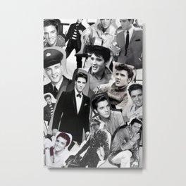 Elvis Presley Collage Metal Print