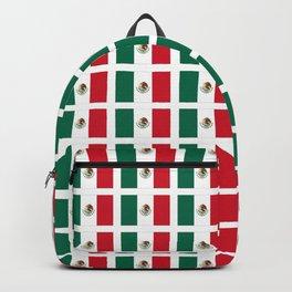 Flag of mexico 2- mexico,mexico city,mexicano,mexicana,latine,peso,spain,Guadalajara,Monterrey Backpack