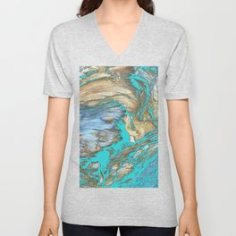 Woody Water Unisex V-Neck