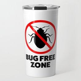 Bug free zone Travel Mug