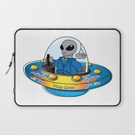 "Alien Spaceship ""Warp Speed"" Laptop Sleeve"
