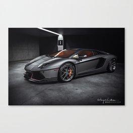 """Lamborghini Aventador """"Inizio"""" Canvas Print"""