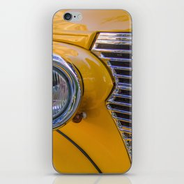 front of a 1940 chevrolet car iPhone Skin