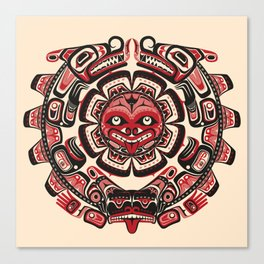 Sisiutl - The Two Headed Serpent Canvas Print