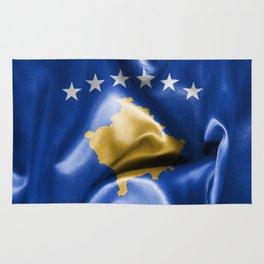Kosovo Flag Rug