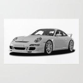 Porsche Car Rug