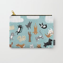 Raining Cats & Dogs Carry-All Pouch