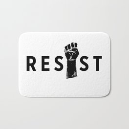 Resist Fist Bath Mat