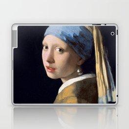"Johannes Vermeer ""Girl with a Pearl Earring"" Laptop & iPad Skin"