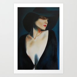 Isadora Duncan#2 Art Print
