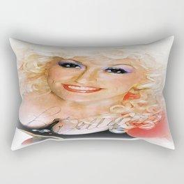 Blanket on the ground Rectangular Pillow