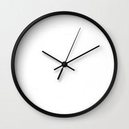 Aim High & Dream Big in White Wall Clock
