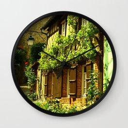 La Petit Ruelle Wall Clock