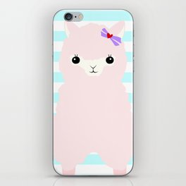 Alpaca In Love  iPhone Skin