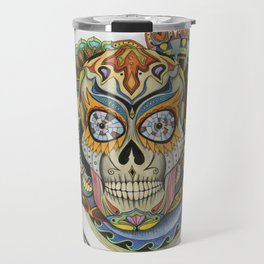 Convergence - Sugar Skull Travel Mug