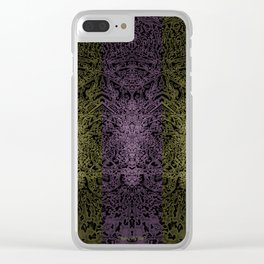 Butterfly Field 8 Clear iPhone Case