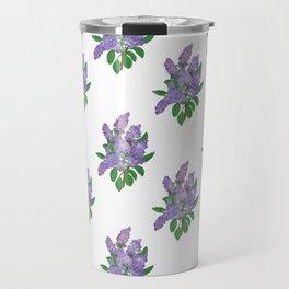Lilacs: Syringa Travel Mug
