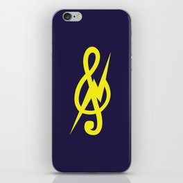 Treble Cleff iPhone Skin