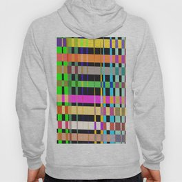 inclined coloured stripes Hoody