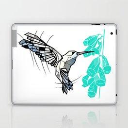 Hummingbird geometric Laptop & iPad Skin