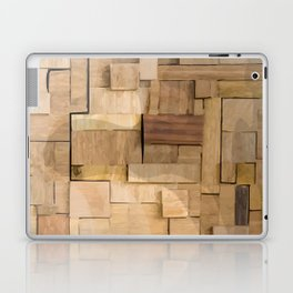 Wood bas-relief Laptop & iPad Skin